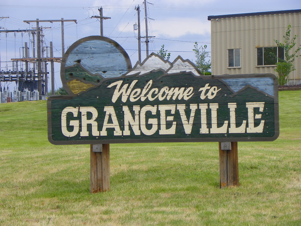 Welcome To Grangeville Idaho J Stephen Conn Flickr