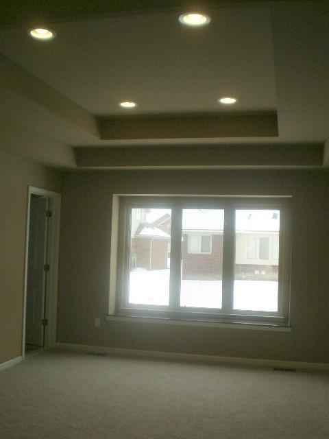 Master Bedroom Step Ceiling | Lassale Homes | Flickr