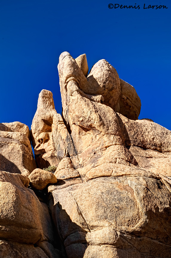Rocks Very Tall Rock Formations Joshua Tree National