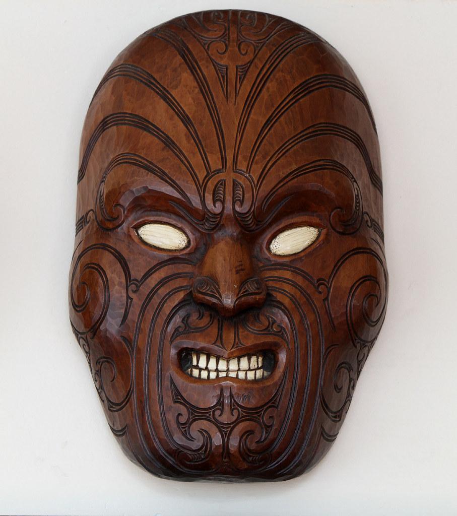 A Mask Depicting Maori Facial Tattoos, I Bought
