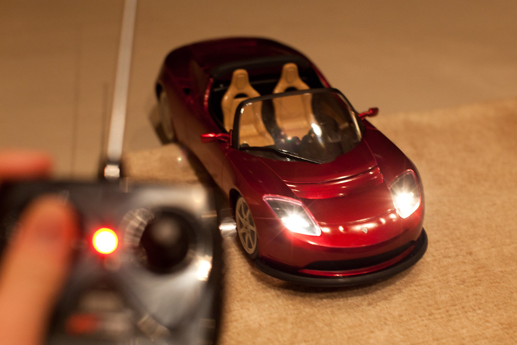 Tesla Rc Car Nice Little New Year S Gift From Tesla