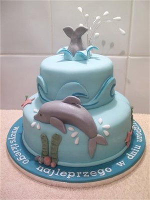 Dolphins Cake Decorating Ideas