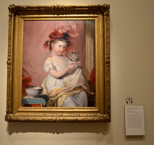 "Museum of Fine Arts Boston, Martin Luther King Day 2011: Samuel Morse's ""Little Miss Hone"" 