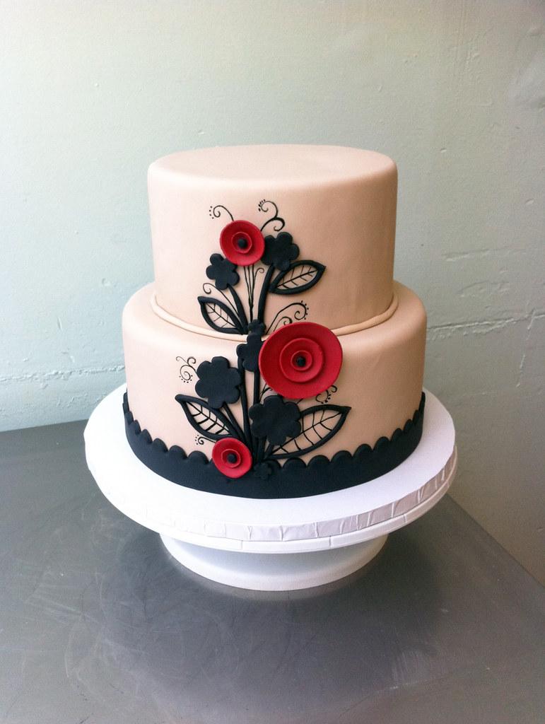 Vintage Theme Cake Decorations