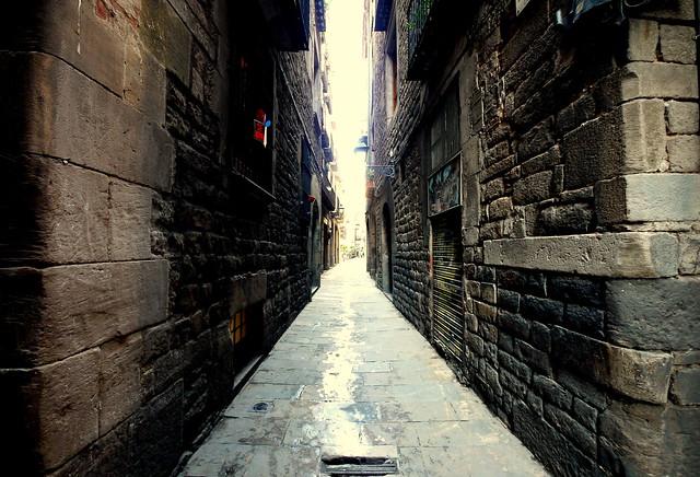 Photo - Casco antiguo de barcelona ...