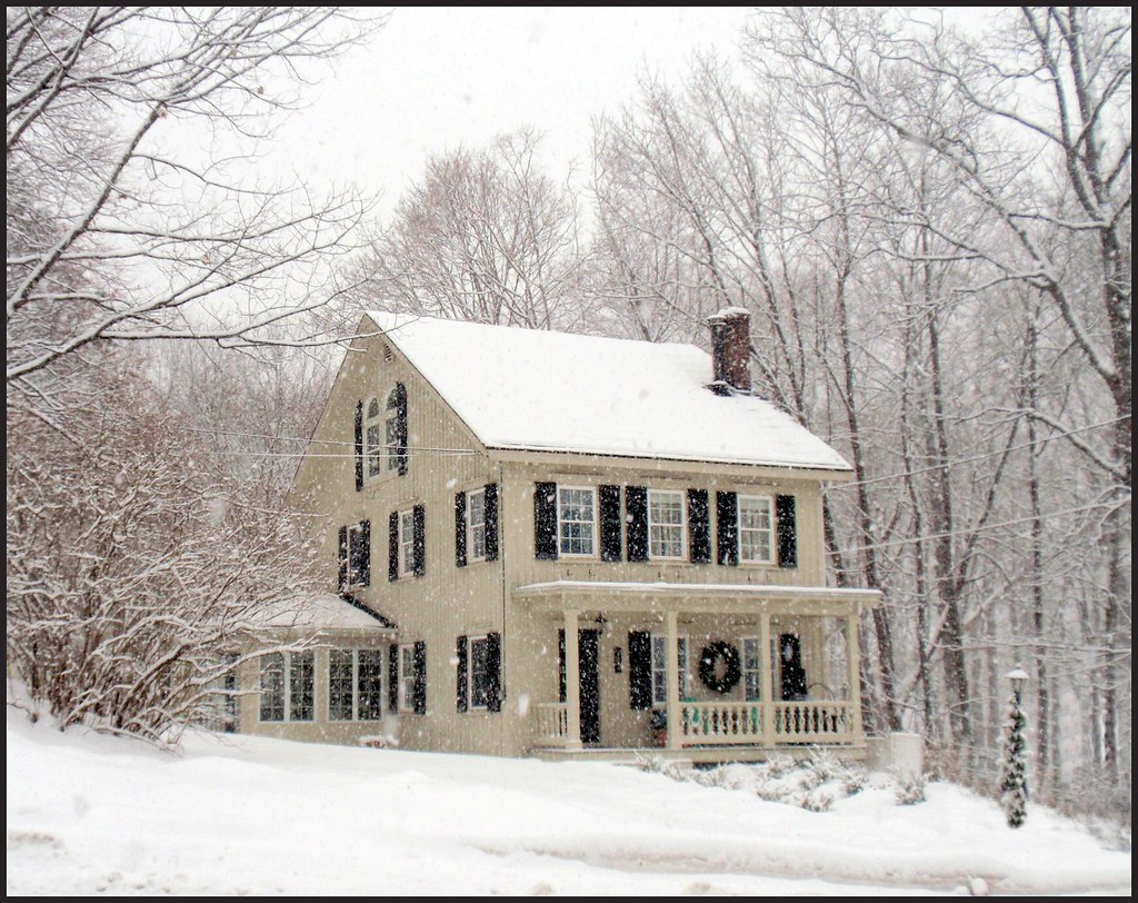 Saltbox House Cornwall Ny This Charming And Distinctive Flickr