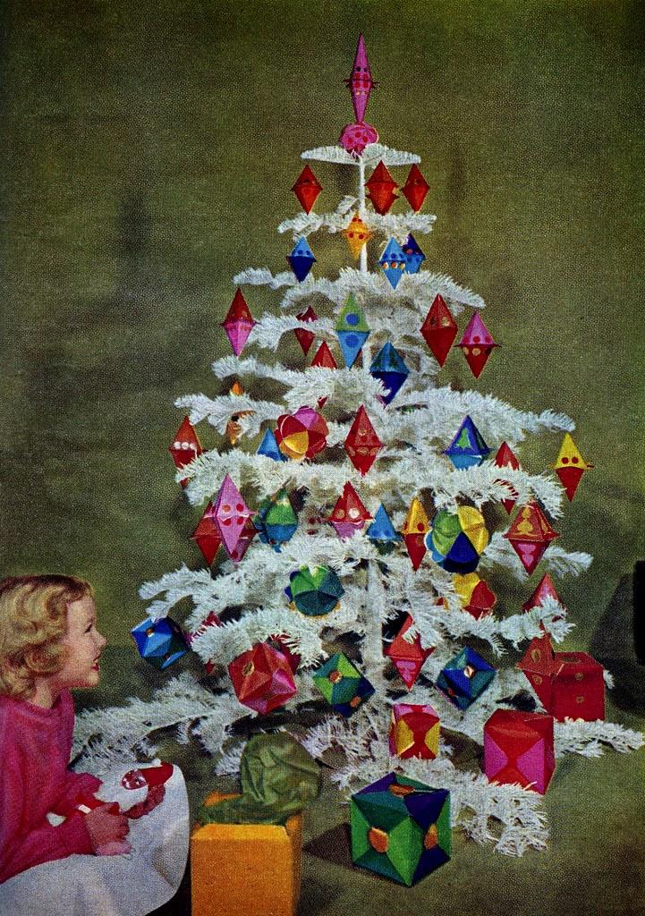 Christmas Tree Girl Better Homes Gardens December 1958 Saltycotton Flickr
