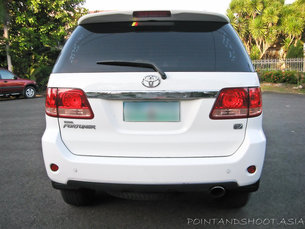 Toyota Fortuner V Year Model 2005 Cebu Second Hand Cars