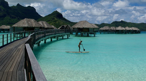 Four Seasons Resort Bora Bora Pontoon