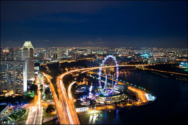 Marina Bay Sands Skypark - Higher than the Flyer | Flickr - Photo