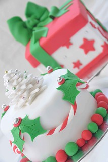 Christmas cakes | by Its A Cake Thing (Jho)