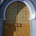 The gold door.