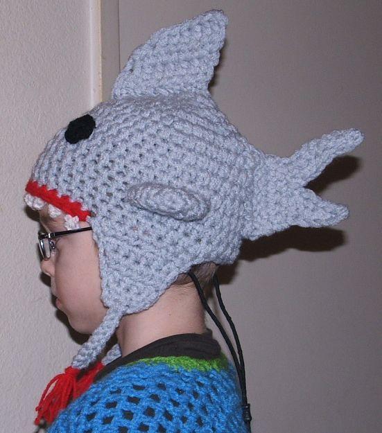 shark hat Visit my ONLINE SHOP crochet pirate Flickr