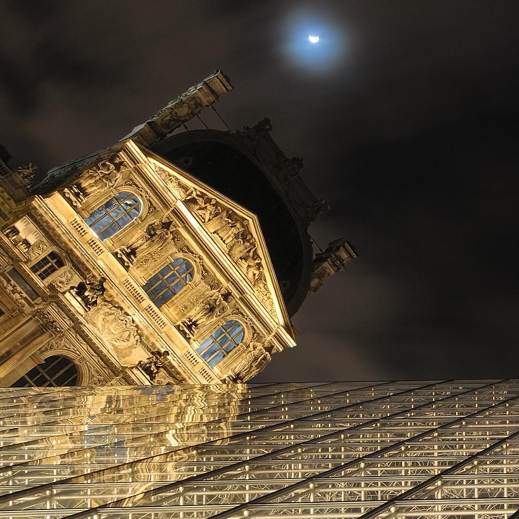 Explore Bratanesque Angle To The Louvre Museum Paris
