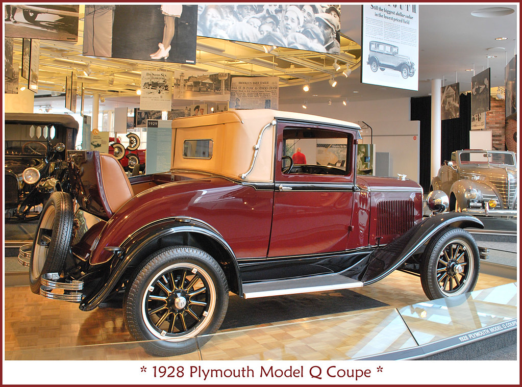 1928 plymouth coupe visit to the walter p chrysler. Black Bedroom Furniture Sets. Home Design Ideas