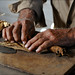 making  hand-rolled cigars