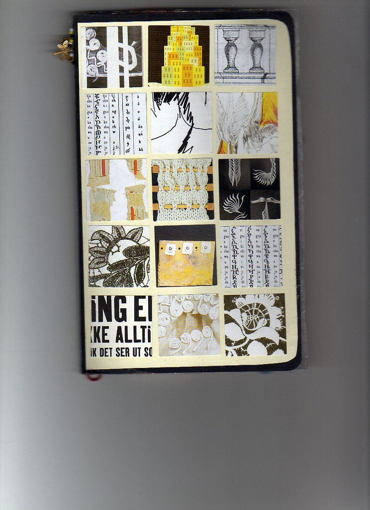 Sketchbook Cover Collage : Sketchbook cover collage we were encouraged to modify