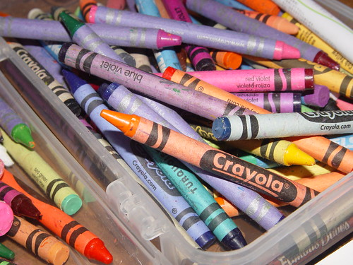 crayons! | by Thien-Kim L