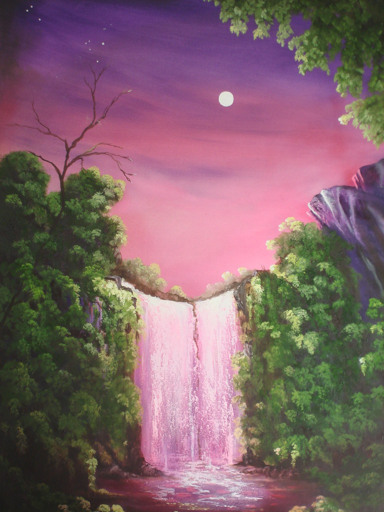 Pink Waterfall Zena Rowland Flickr