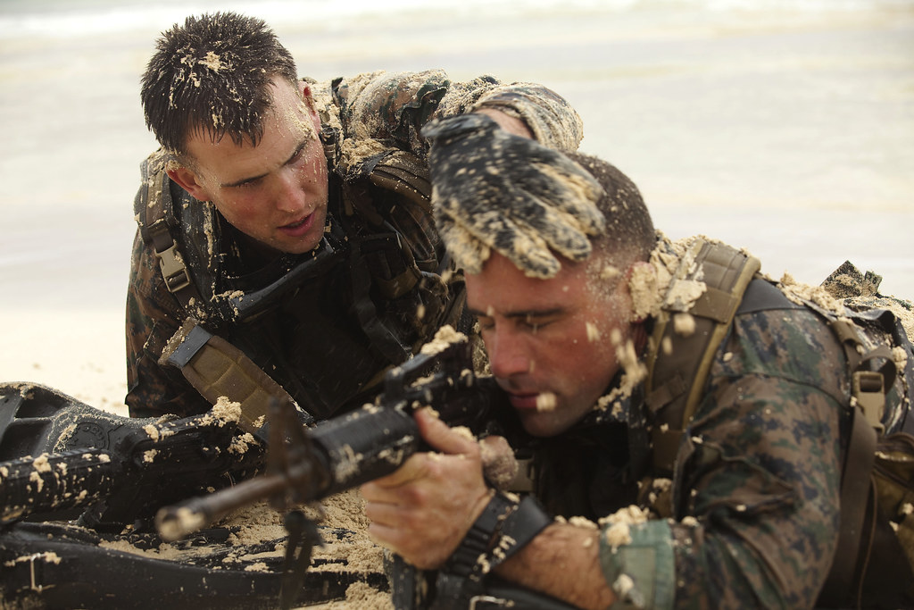 Recon Marines work as a team | Cpl. Jonathon Schannep and ...