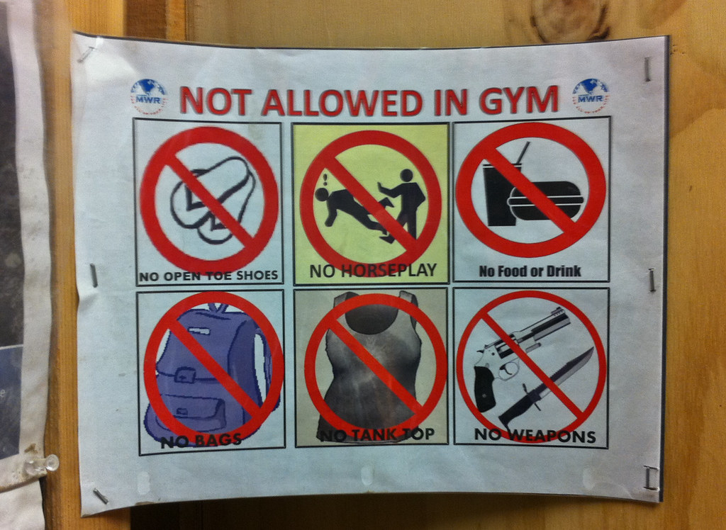 gym rules Whether you're a beginner or an advanced, you have to learn rules if you want to survive in this jungle called gym gymaholic provides you the rules you must know.