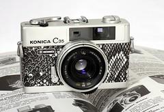 Konica C35 Automatic by darronbarnes
