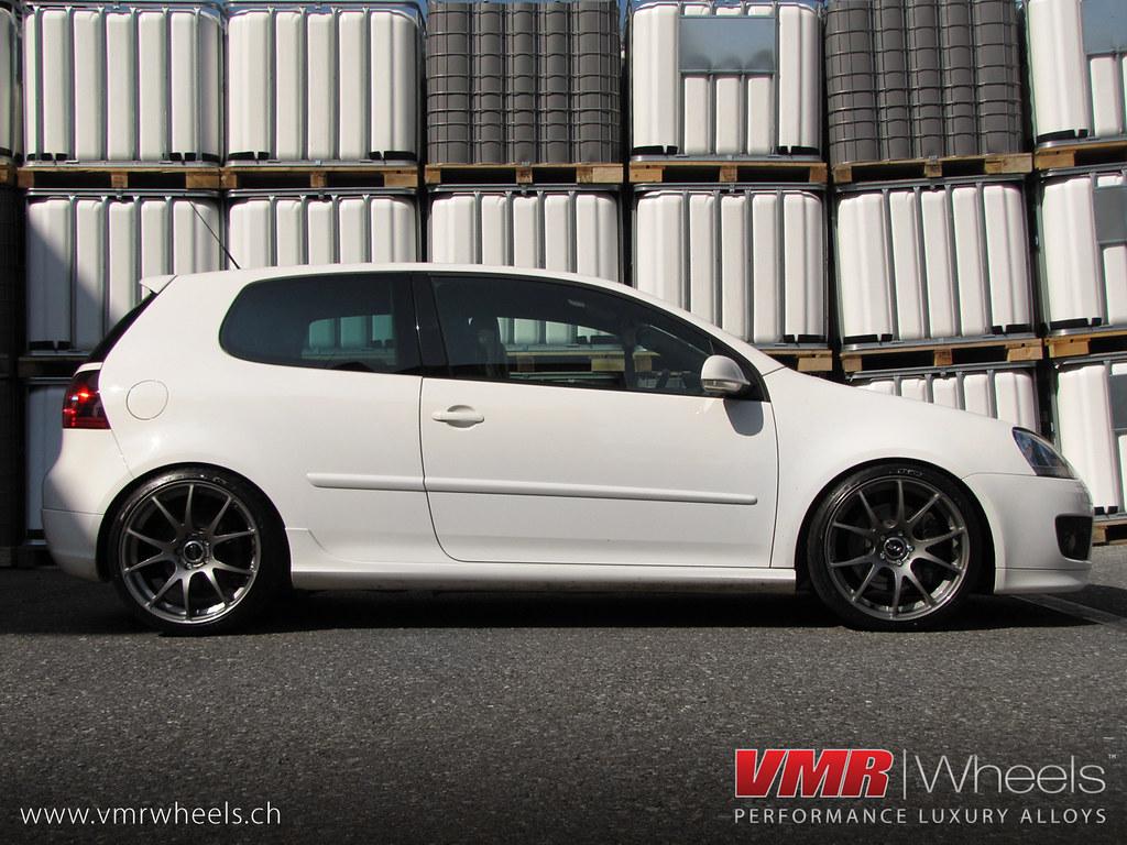 Vmr Wheels V713 Gunmetal Volkswagen Golf V Gti Vmr