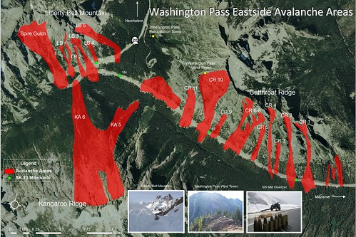 SR 20, North Cascades Highway Avalanche Map | by WSDOT
