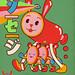Nagoya Sweet Salami Co. (Fake  Vintage Japanese Ad Characters)