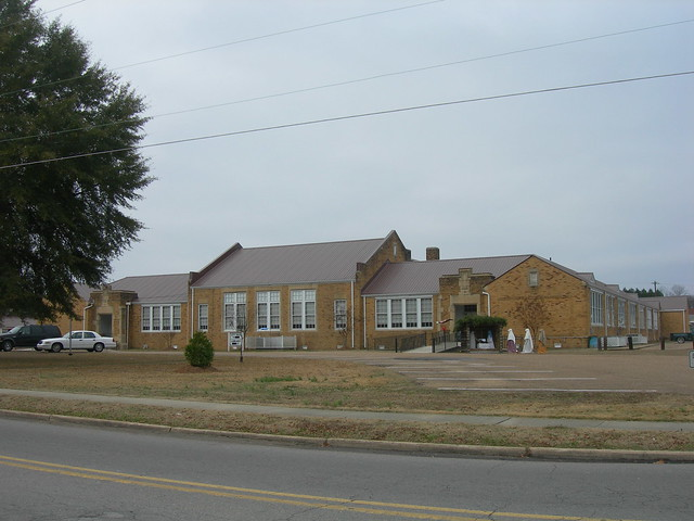 (Old) Lamar County High School | Flickr - Photo Sharing!