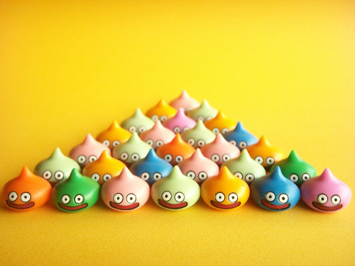 Cute Japanese Toys : Cute slime super small figures japanese toys dragon quest