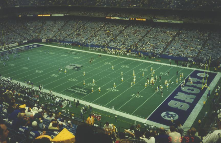 Pontiac Silverdome | At this time (2010), the dome is still … | Flickr