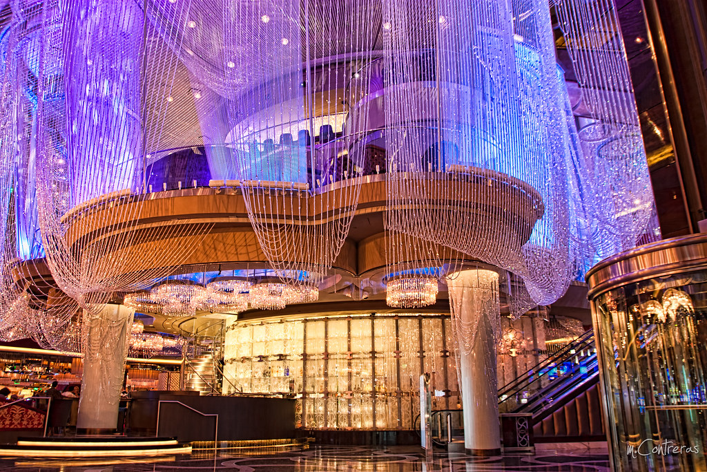 The Chandelier at The Cosmopolitan, Las Vegas NV | An inhabi… | Flickr