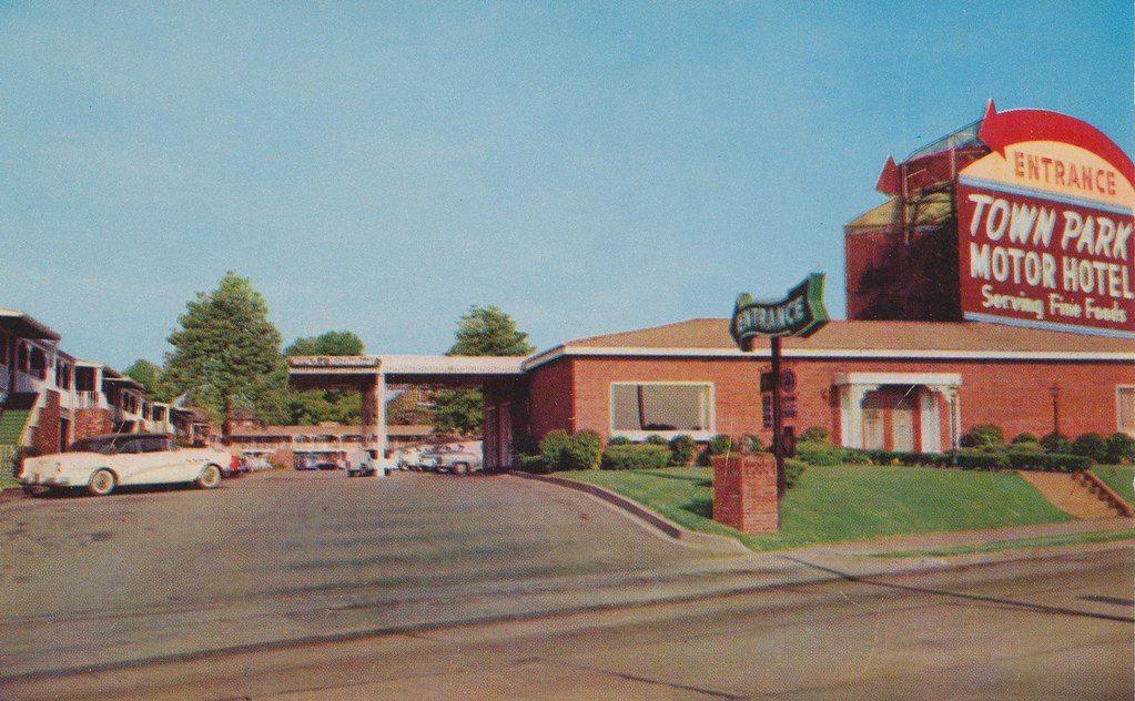 Town Park Motor Hotel Memphis Tennessee The Beautiful