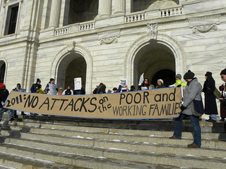 Protest against cuts in Minnesota social programs | by Fibonacci Blue