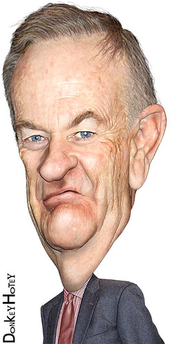 Bill O'Reilly - Caricature | by DonkeyHotey