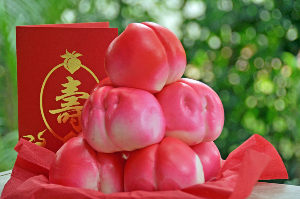 Shou Tao - Longevity Peach Buns | View Large On Black 08 ...
