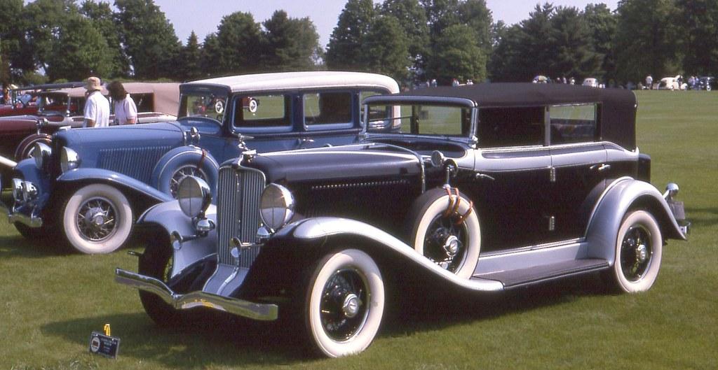 1931 Auburn 8-98 convertible sedan | Richard Spiegelman | Flickr