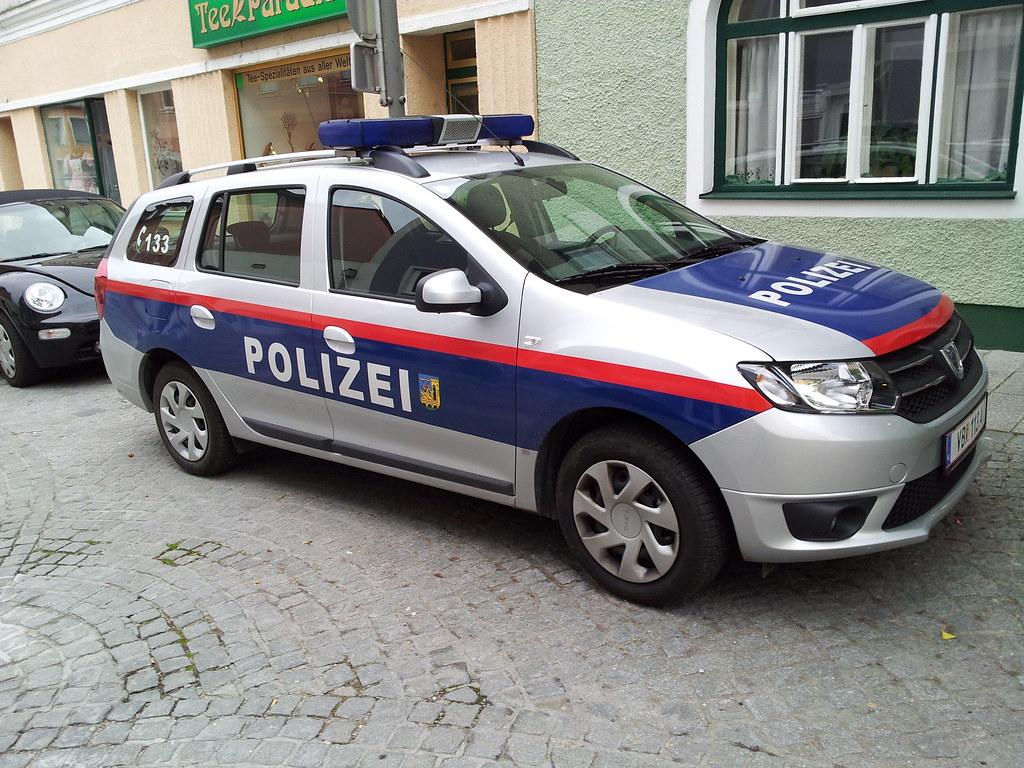 Dacia Logan Stadtpolizei V 246 Cklabruck O 214 V 246 Cklabruck Ci