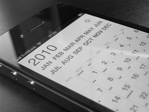 Calvetica Calendar (iPhone 4) | by junyaogura