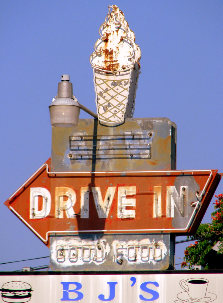 Vintage A&W Drive-In Neon sign - Erin, TN | I can only
