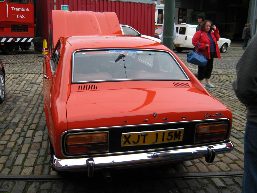 february 1974 ford capri 1600 xl mk1 facelift xjt115m flickr. Black Bedroom Furniture Sets. Home Design Ideas