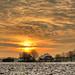 Cold sunrise