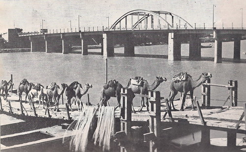 Alhindeya bridge 1955