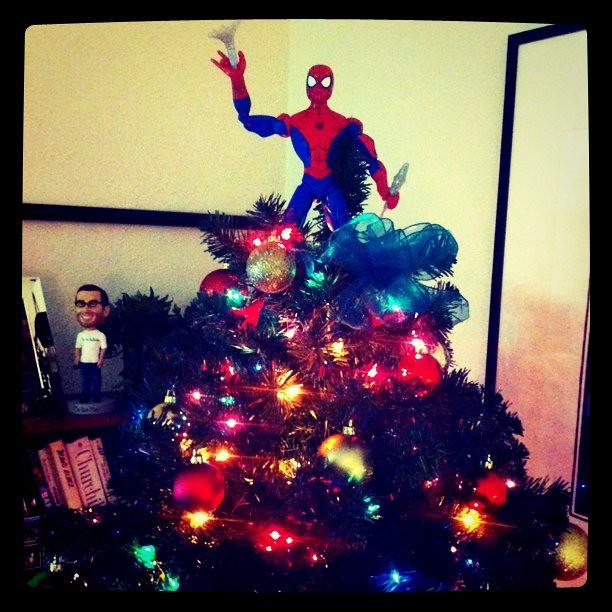 Spider-Man Christmas Tree Topper | Morgan Brown | Flickr