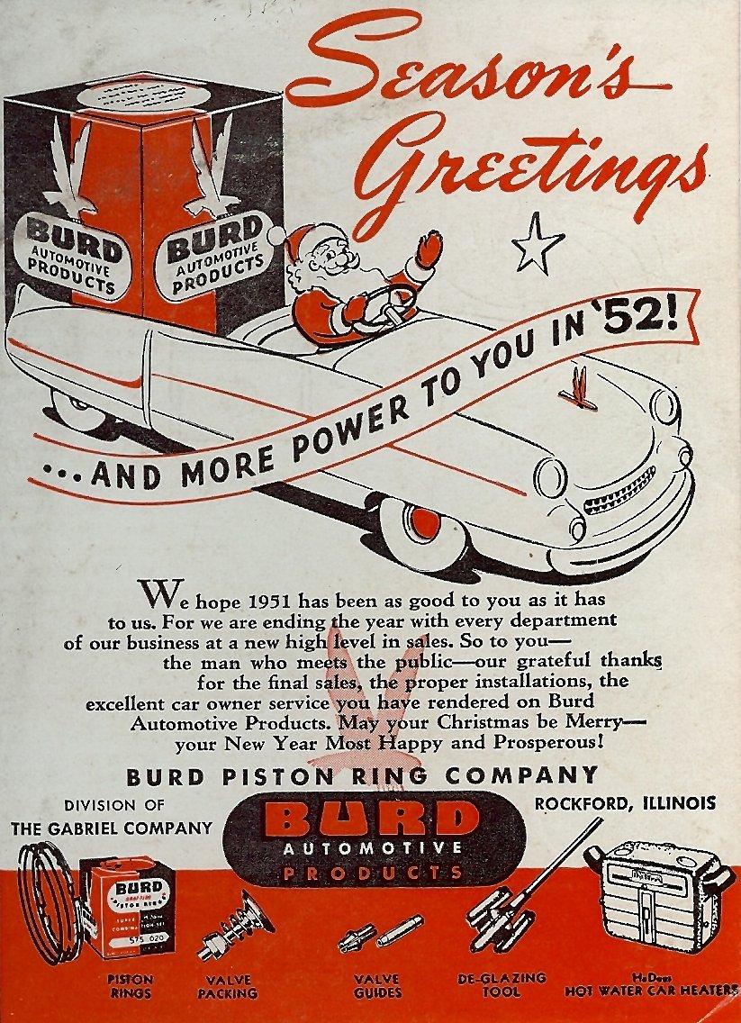 Burd Piston Ring Company - 1951