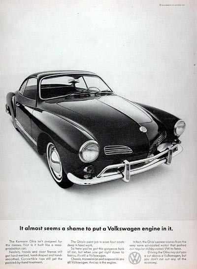 volkswagen karmann ghia ad usa covers    flickr