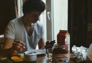 Nutella addiction | by coffeestainsandcigarettes
