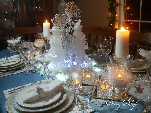 White winter tablescape flickr photo sharing