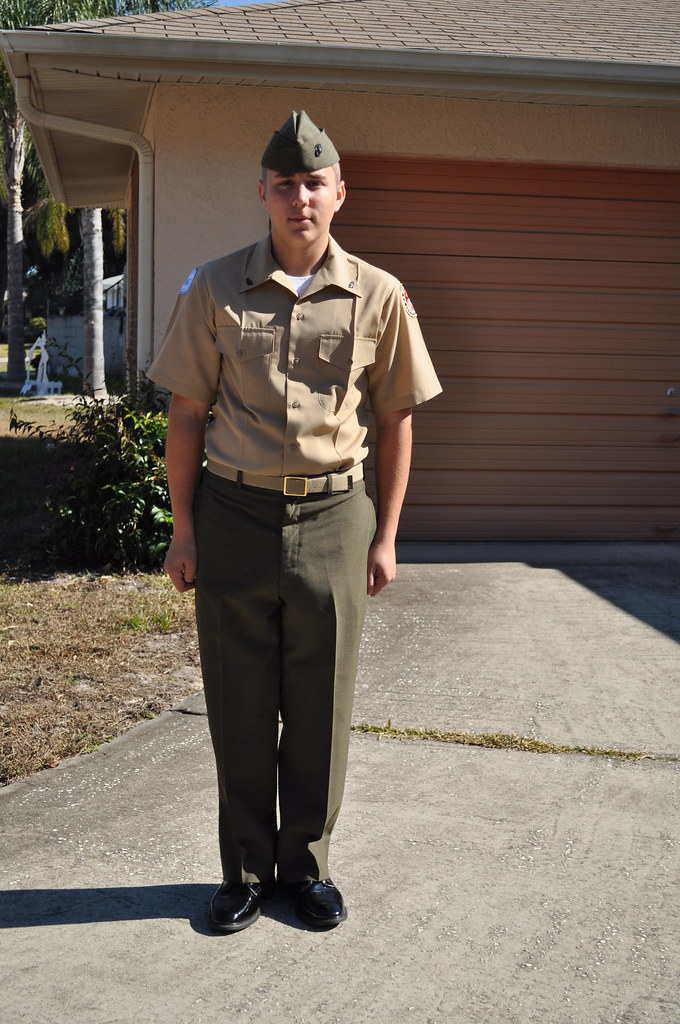 MCJROTC Uniform | My son in his ROTC uniform. Dec 2010 ...